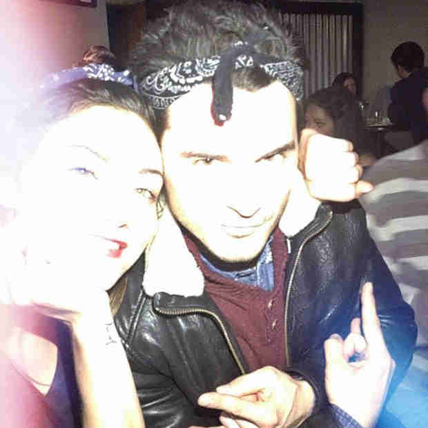 Phoebe Tonkin Hangs Out With Michael Malarkey — Random Bestie Alert! (PHOTO)