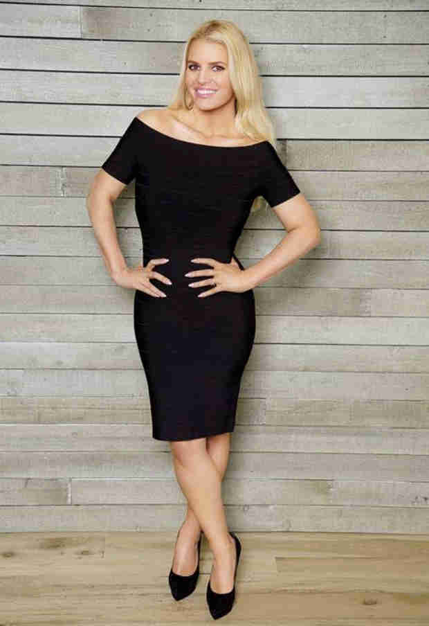 Jessica Simpson Parades New Physique in Weight Watchers Ad — LBD Alert! (VIDEO)