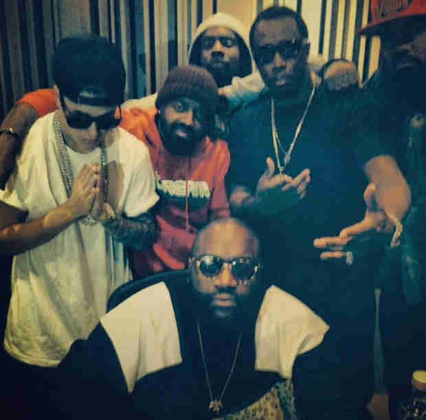 Justin Bieber Parties With Diddy, T.I., and Other Rappers in Atlanta (PHOTO)