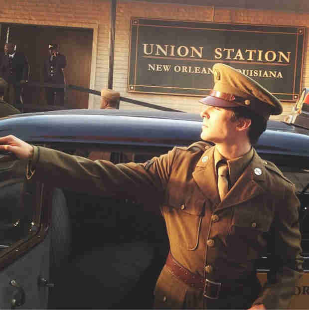 Ian Somerhalder Smoulders as Damon Salvatore in a WWII Uniform (PHOTO)
