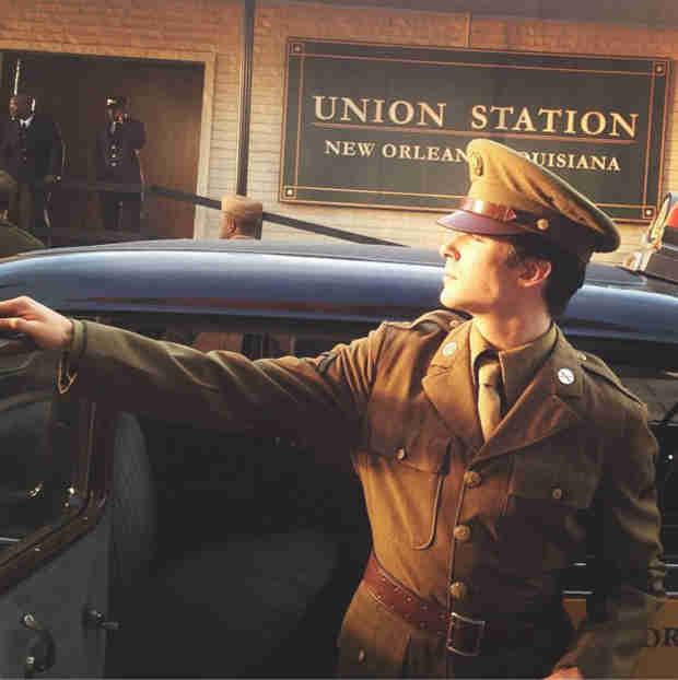 Ian Somerhalder Smoulders as Damon Salvatore in a WWII Uniform (PHOTO)