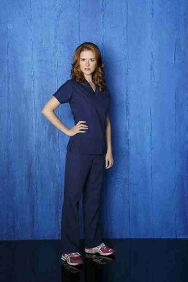 "Grey's Anatomy: Sarah Drew Gets ""Gray's Anatomy"" From Mother-in-Law (PHOTOS)"