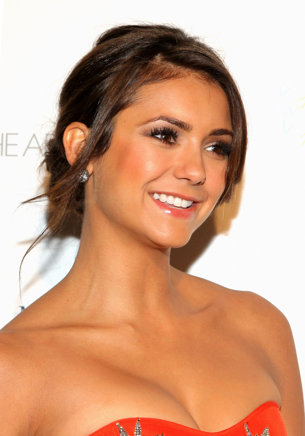 Vampire Diaries' Nina Dobrev Hangs Out With Aaron Paul, Our Minds Explode (PHOTO)
