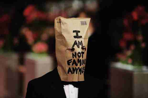Shia LaBeouf Wears Paper Bag to Film Premiere After Storming Out of Interview