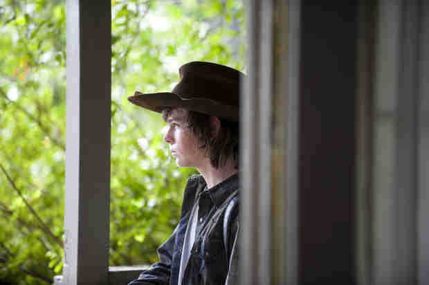 "The Walking Dead Season 4 Episode 11 Recap: Stranger Danger! Rick Kills, Glenn Fights, Michonne Gets Cheesy in ""Claimed"""