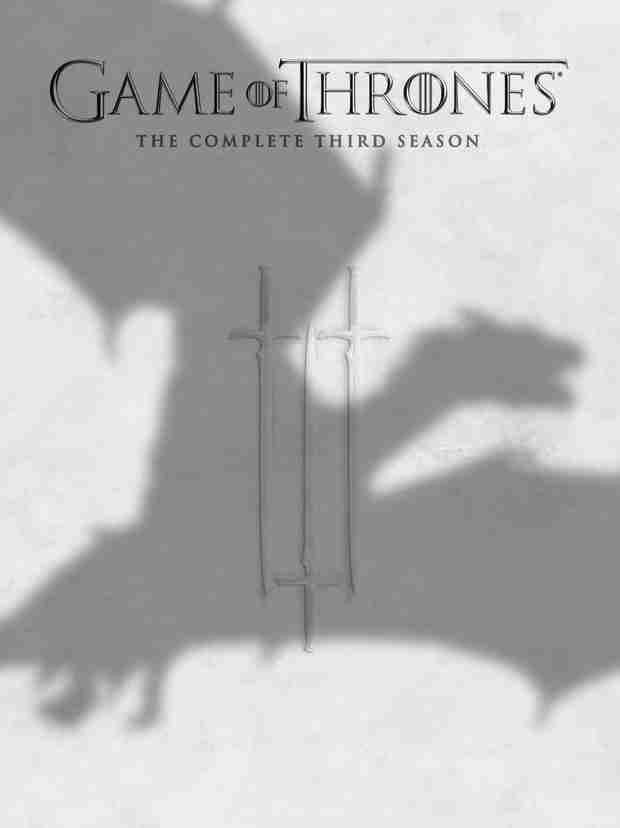 Game of Thrones Season 3 DVD on Sale Today!