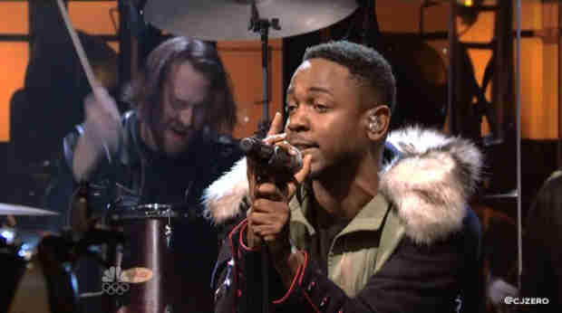 "Kendrick Lamar Joins Imagine Dragons For ""Radioactive (Remix)"" on Saturday Night Live (VIDEO)"