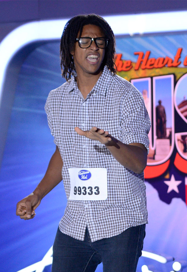 American Idol 2014 Spoilers: Watch Savion Wright Sing an Original Song in Hollywood Week Final Performances