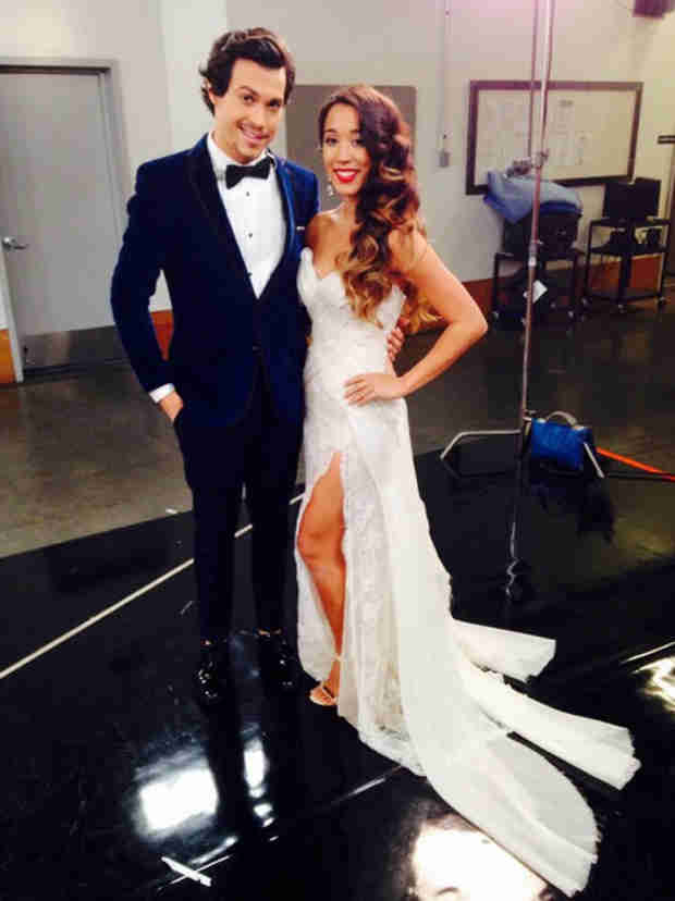 "Adorable Alex & Sierra Photo: We Look Like We're ""Getting Married"""