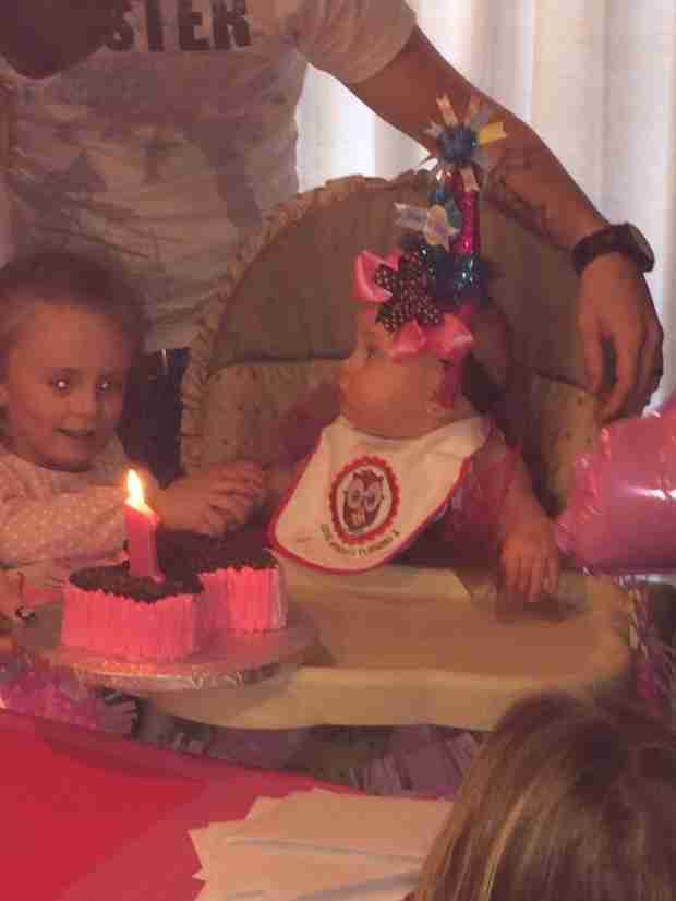 Leah Messer's Daughter Adalynn Celebrates Her First Birthday! (PHOTOS)