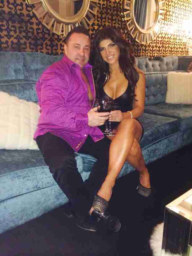 Teresa Giudice Has a Date Night  — WHAT Is Joe Wearing?