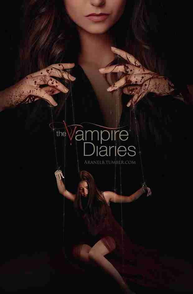 Vampire Diaries Fan-Made Poster Reveals Katherine Playing Puppeteer (PHOTO)