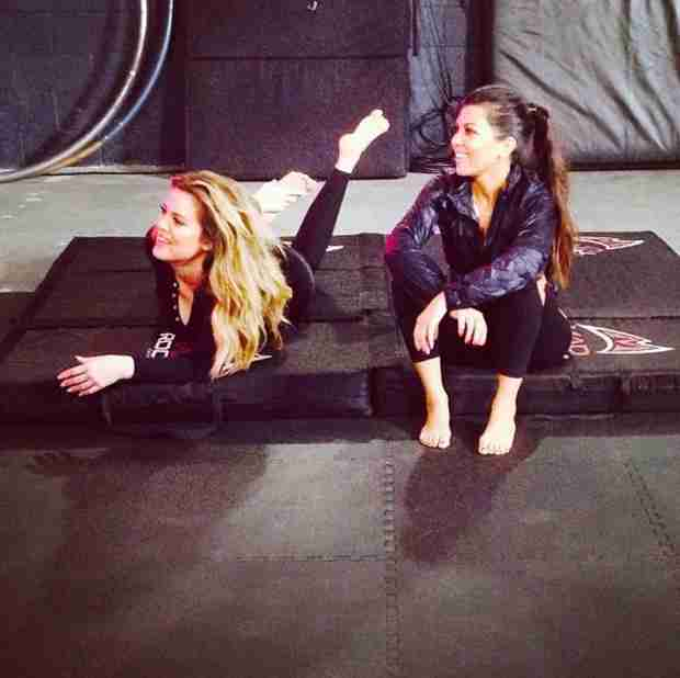 Kourtney Kardashian Enlists Khloe to Help Her Slim Down