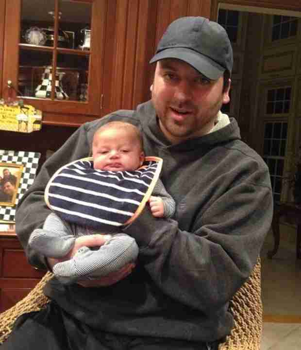 Chris Manzo Cuddles With Godson Gabriel — Adorable Photo!