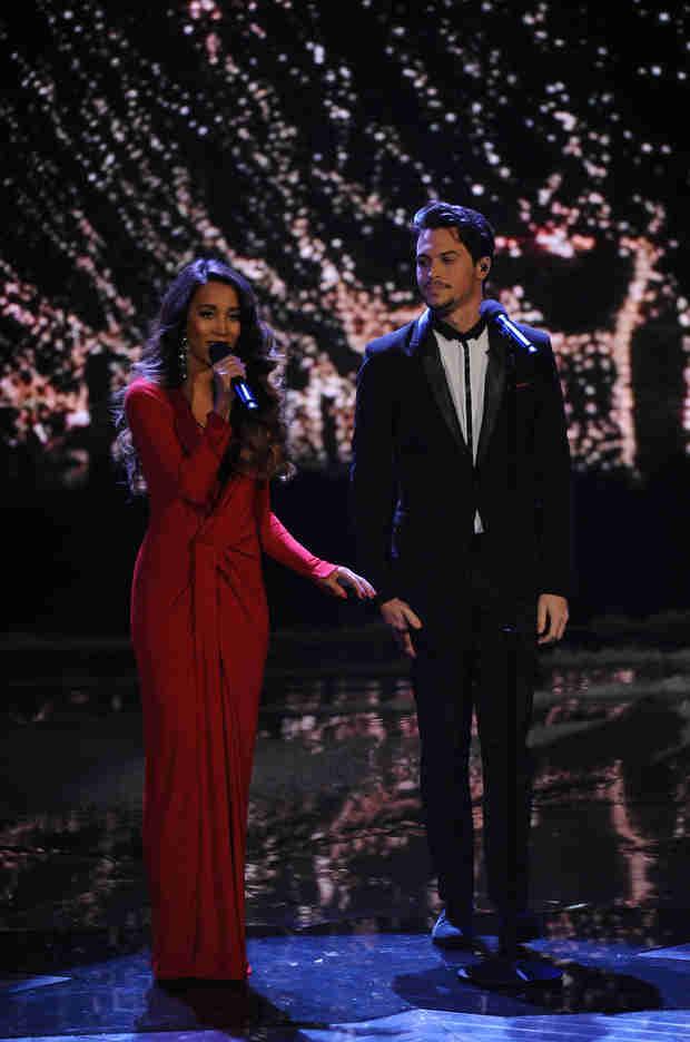 Maroon 5 Star Writing Music With X Factor Winners Alex & Sierra!