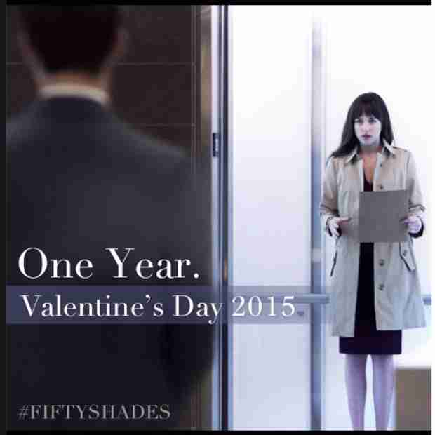Fifty Shades of Grey: See Anastasia and Christian in Sexy First Film Still (PHOTO)