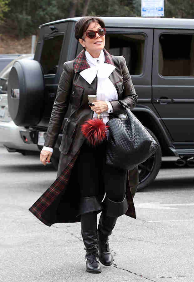 WTF Outfit Alert: Kris Jenner Dresses Like a Pirate