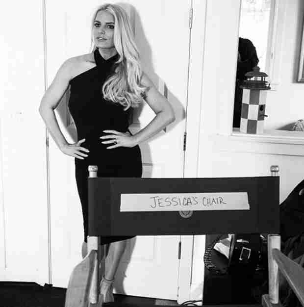 "Jessica Simpson Shows Off Body For Weight Watchers: ""Too Proud to Sit Down!"""