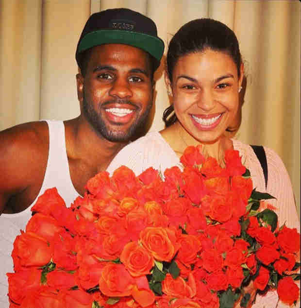 Whoa! Jason Derulo Gives Jordin Sparks 10,000 Roses For Valentine's Day (PHOTOS)