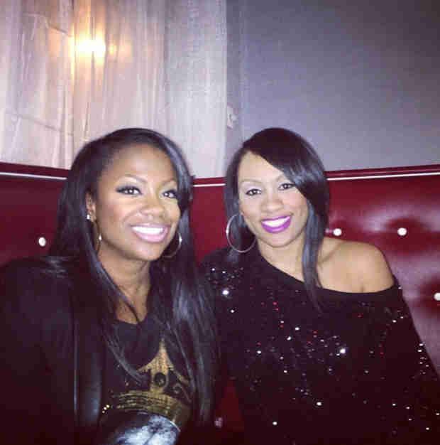 Fight Breaks Out at Stevie J and Benzino's New Bar — Was Kandi Burruss Involved? (VIDEO)