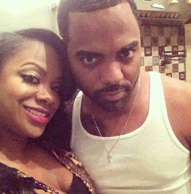 "Kandi Burruss Shares New Photo With Fiancé Todd Tucker, Calls Them ""Bonnie and Clyde"""