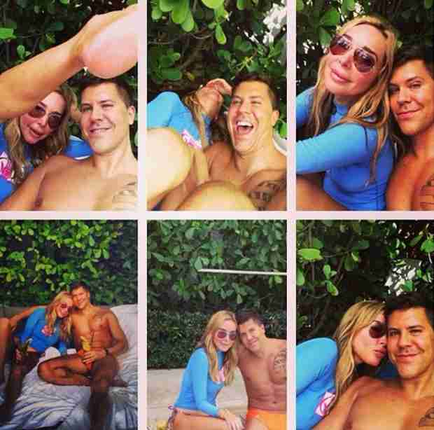 Marysol Patton and Fredrik Eklund Hit Miami Beach (PHOTOS)