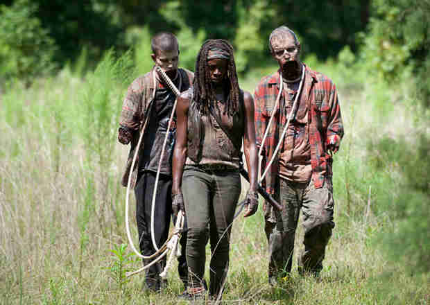 "The Walking Dead Season 4: More Michonne Revelations Ahead, Rick and Carl Are Her New ""Family"""