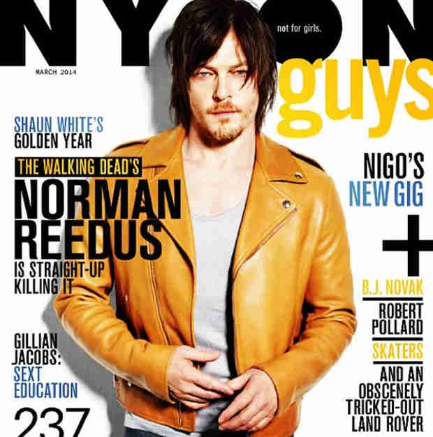 Norman Reedus Covers Nylon For Guys — See the Sexy Shot! (PHOTO)