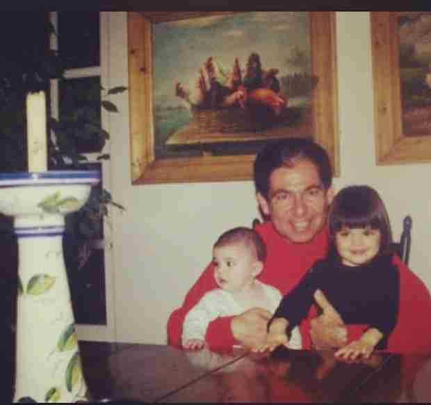 Robert Kardashian Holds Kylie and Kendall Jenner in Adorable TBT Photo