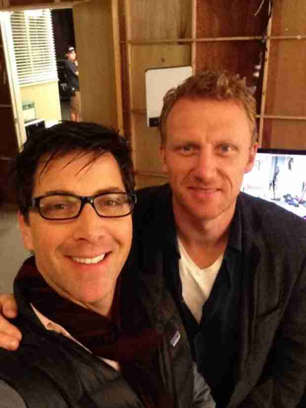 Kevin McKidd to Direct Another Episode of Grey's Anatomy, Gets Support From Scandal's Dan Bucatinsky