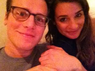 Lea Michele Wants to Go Lesbian — For Jonathan Groff's Show Looking