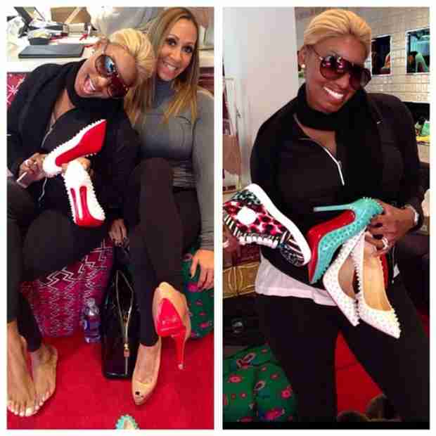 NeNe Leakes Goes on Super Bowl Shopping Spree With Mynique Smith (PHOTOS)
