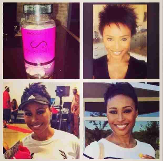 Cynthia Bailey Shows Off Her Natural Hair — What Do You Think? (PHOTO)