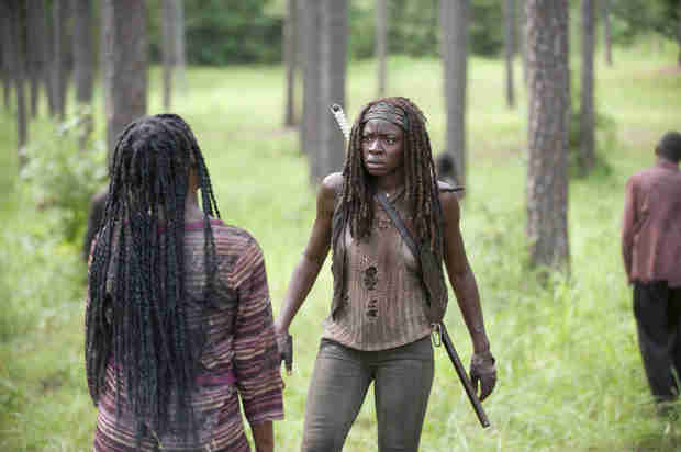 "The Walking Dead: What Is the Name of Michonne's ""Lover""?"