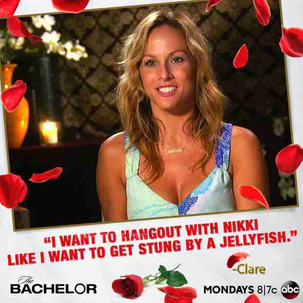 Bachelor 2014 Spoilers: Clare Crawley and Nikki Ferrell Face Off in Miami!