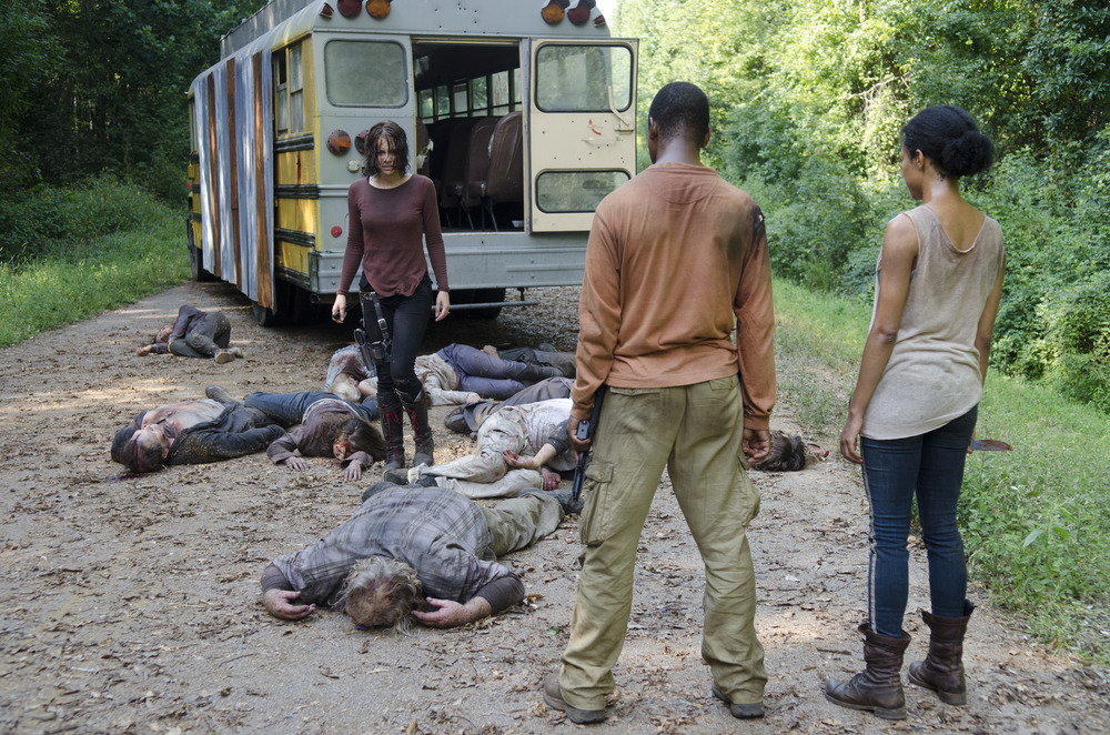 "Is The Walking Dead Season 4's Terminus ""Sanctuary"" Related to Negan and The Saviors?"