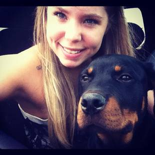 "Kailyn Lowry Defends Owning a Rottweiler: ""He's the Gentlest Giant!"""