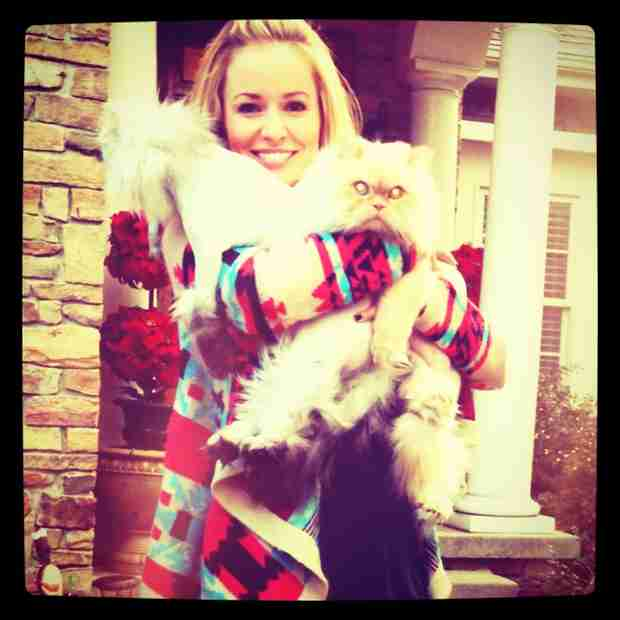 Emily Maynard Mourns the Loss of Her Cat, Holly Bear
