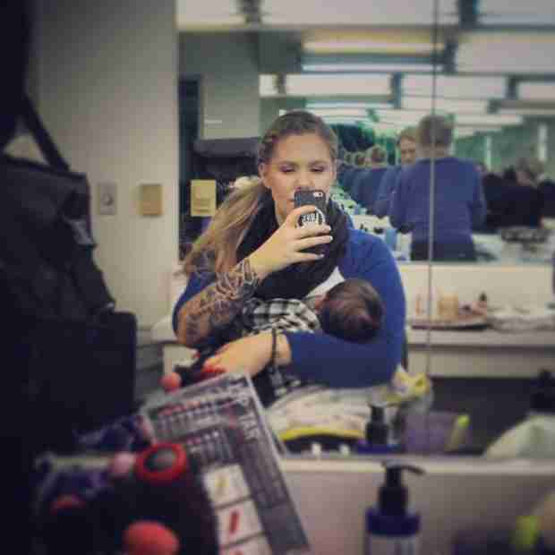 Katie Yeager Defends Kailyn Lowry After Facing Criticism For Breastfeeding in Public