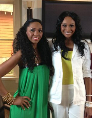 Cynthia Bailey's Sister Malorie Says Kandi Burruss Pushed Her First!