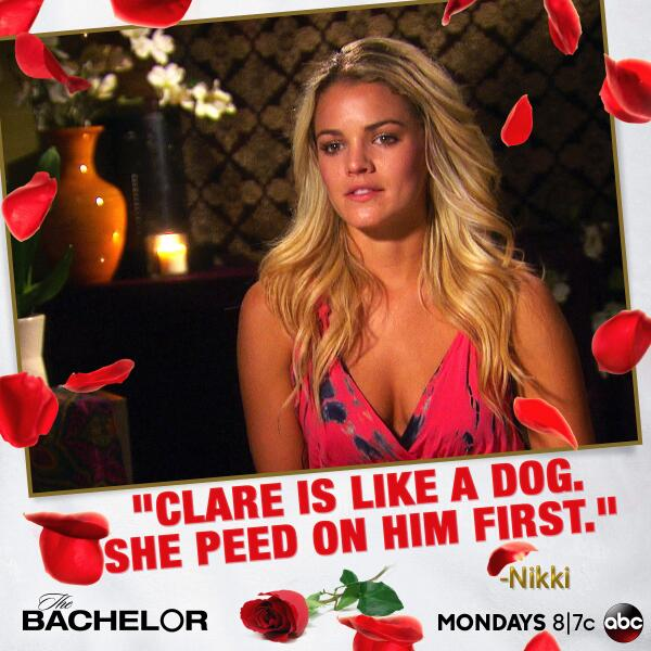 Bachelor 18 Hot Mess of The Week in Miami : Clare Crawley — and Nikki Ferrell, by Extension