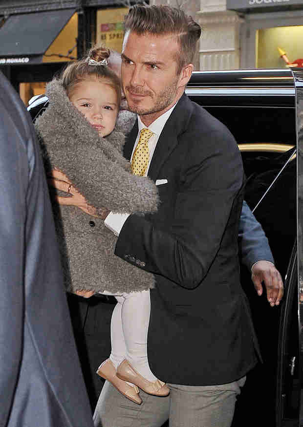 Harper Beckham: Victoria and David's Daughter Looks Just Like Dad (PHOTO)
