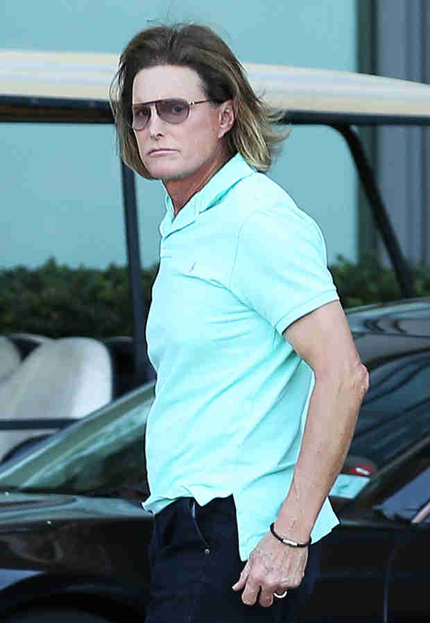 Bruce Jenner Reveals the Results of His Adam's Apple Surgery (PHOTO)