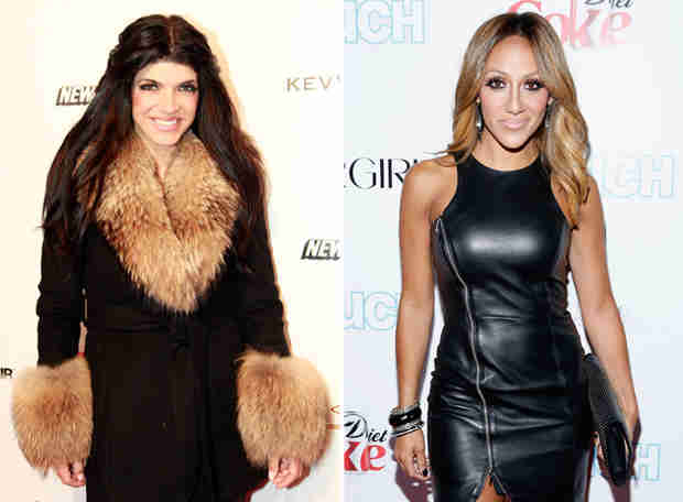 Melissa Gorga and Teresa Giudice Put in Tough Workouts