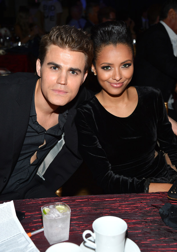 Kat Graham Shares Adorable Pic of Paul Wesley Directing Season 5, Episode 18 (PHOTO)