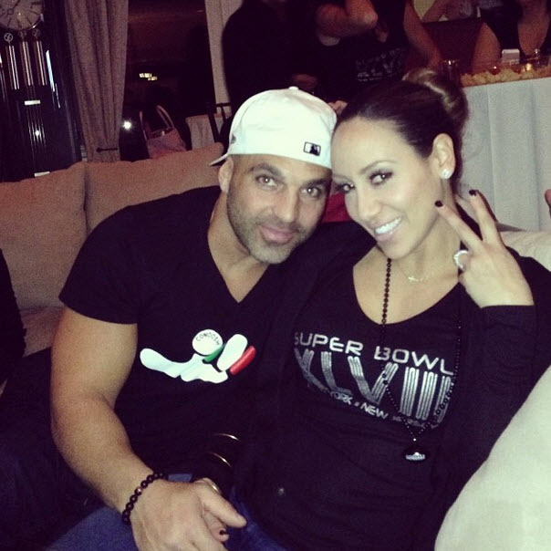Melissa Gorga Watched the Super Bowl With THIS Fellow Housewife (PHOTO)