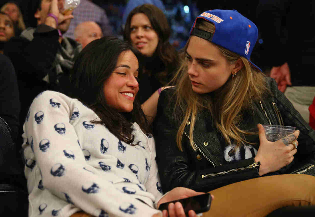 "Michelle Rodriguez Confirms Cara Delevingne Relationship: ""She's So Cool"""