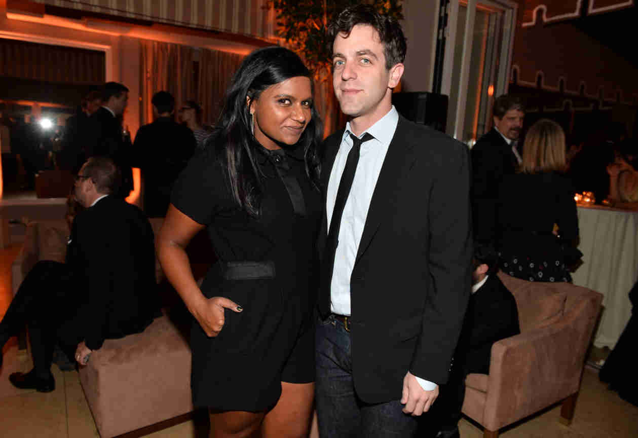 "B.J. Novak on Mindy Kaling: ""No One Knew If We Were Together or Not, Including Us"""