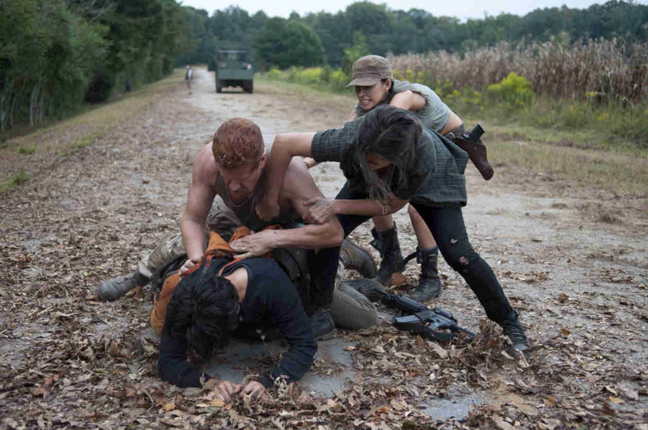 The Walking Dead Season 4: Abraham Would Have Killed The Governor, Says Michael Cudlitz (VIDEO)