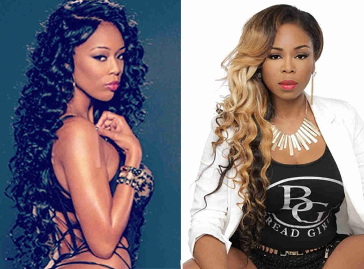 Love & Hip Hop Atlanta's Shay Johnson and Newcomer Bambi Fight Over Lil Scrappy! (PHOTOS)